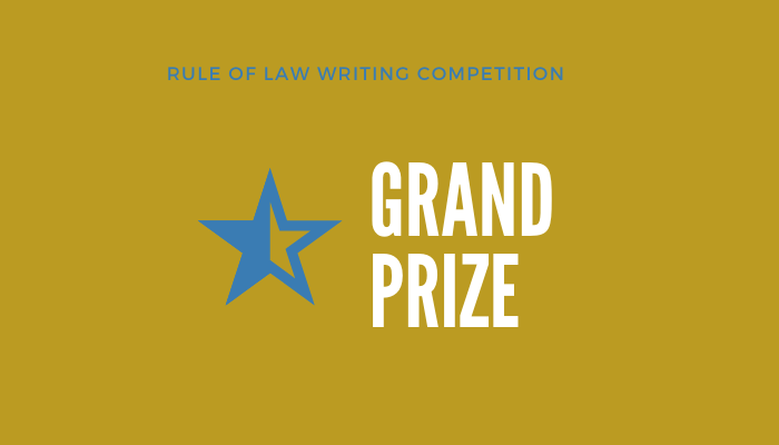 2019 Grand Prize Winner